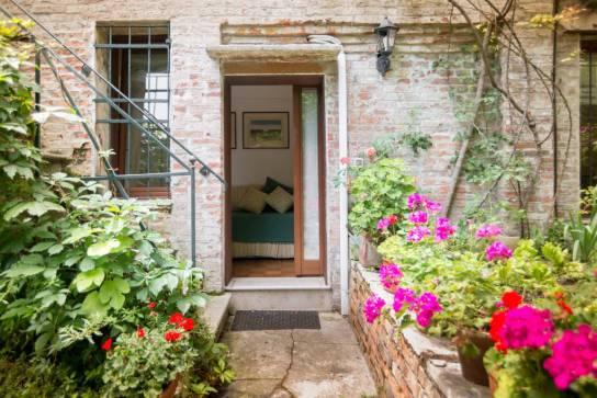 Eingang Gartenhaus